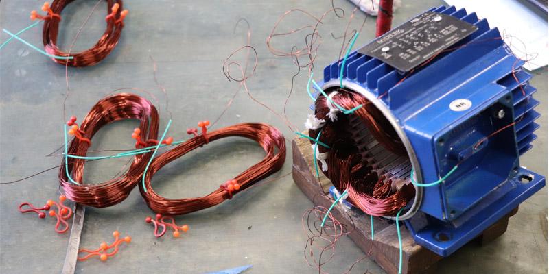 Bobinage de moteur électrique
